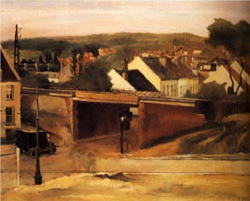 For Auderghem by Paul Delvaux (1923)