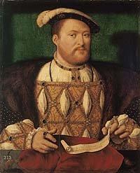Henry VIII by Joos van Cleve (1535)