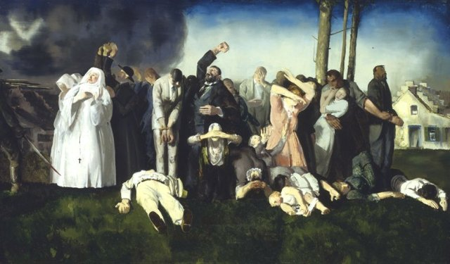 Massacre at Dinant by George Bellows (1918)