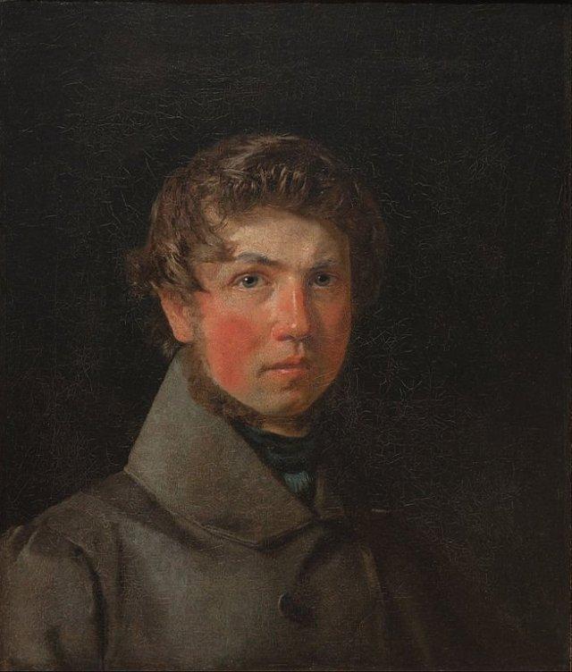 Self Portrait by Christen Købke (1833)