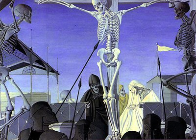 The Crucifixion by Paul Delvaux (1952)
