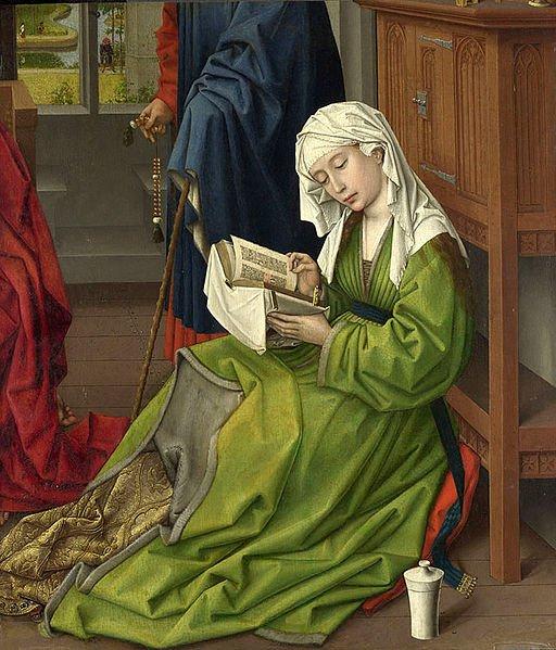 The Magdalen Reading by Rogier van der Weyden (before 1438)