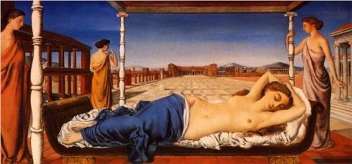The Sleeping Venus by Paul Delvaux Second version (1943)