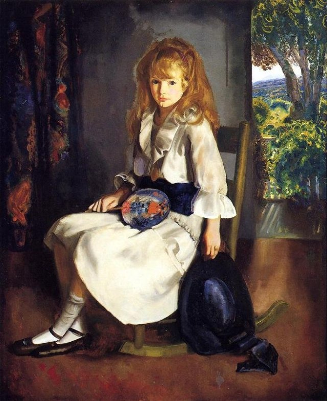 Anne in White by George Bellows (1920)