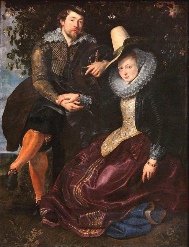 Honeysuckle Bower by Rubens (c.1609)