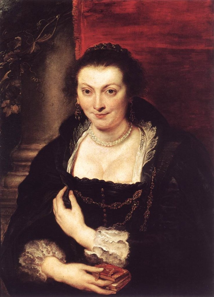 Isabella Brandt by Rubens (c.1626) Uffizi Gallery, Florence