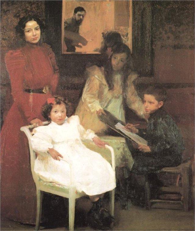 My Family by Joaquín Sorolla (1901)