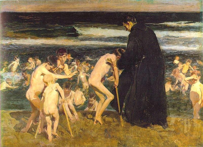 Sad Inheritance by Joaquín Sorolla (1899)