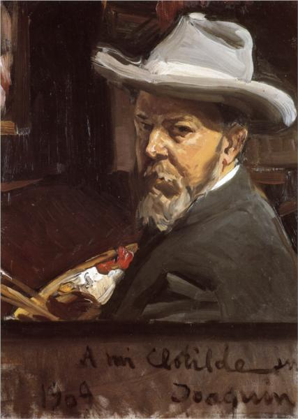 Self Portrait by Joaquín Sorolla (1909)