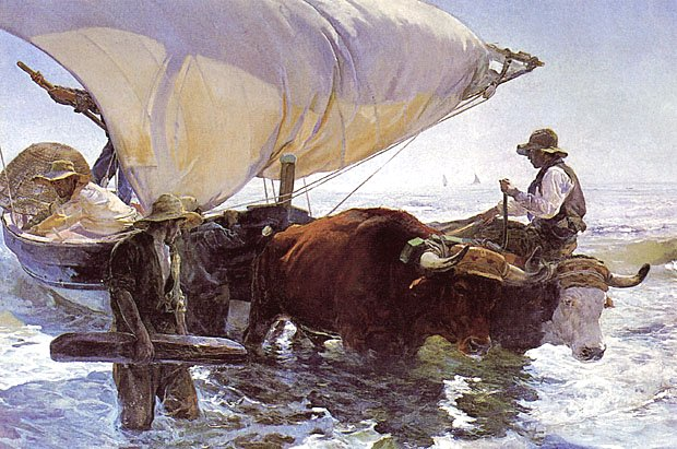 The Return of the Catch by Joaquin Sorolla (1894)
