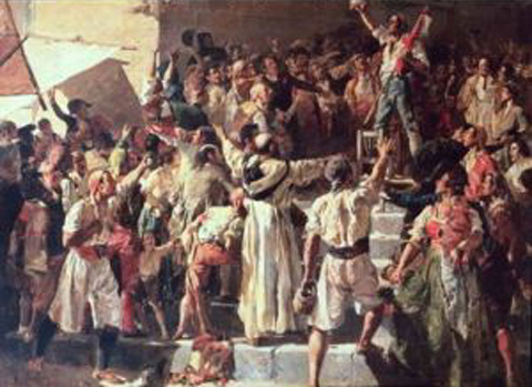 The Shout of the Palleter by Joaquín Sorolla (1881)
