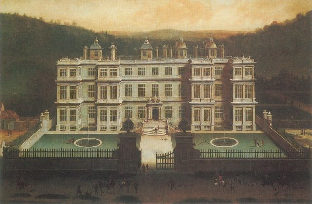 View of Longleat by Jan Siberechts (1675)