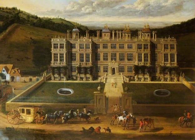 View of Longleat by Jan Siberechts (1678)