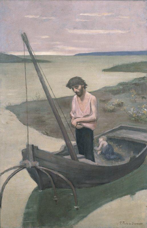 Le Pauvre Pêcheur by Pierre Puvis de Chavannes (1881)  The National Museum of Western Art