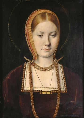 Portrait of Young Catherine of Aragon by Michael Sittow (C. 1504) Kunsthistoriches Museum, Vienna