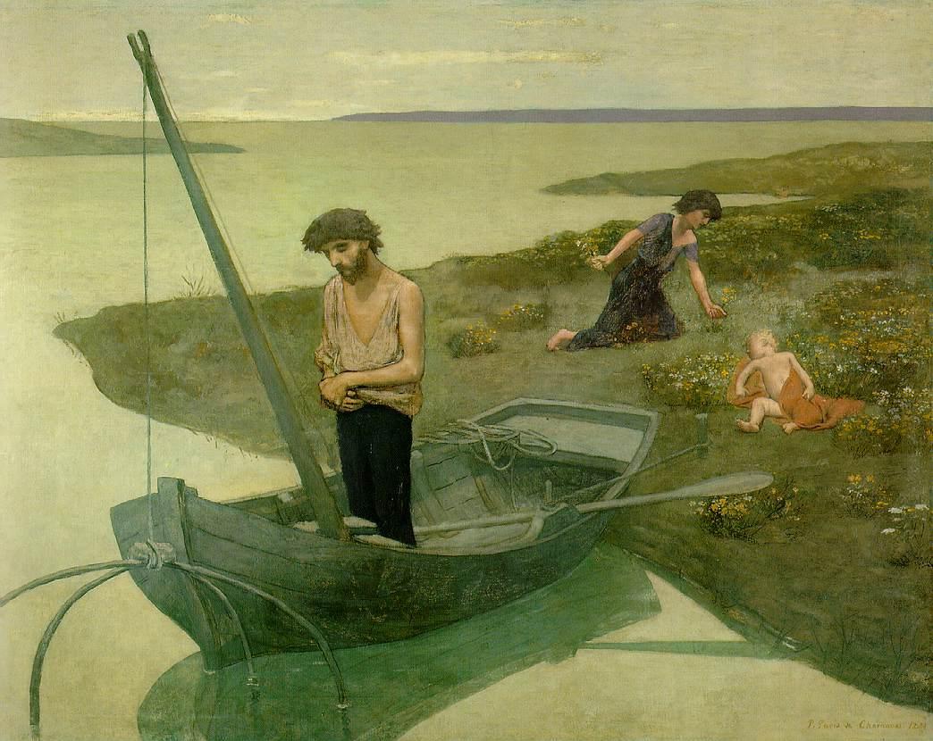 The Poor Fisherman by Pierre Puvis de Chevannes (1881)