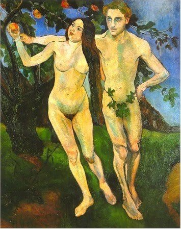 Adam and Eve by Suzanne Valadon (1909)