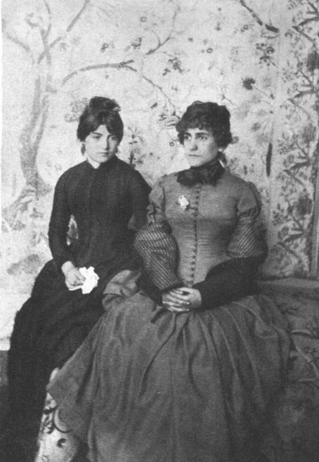 Madeleine Valadon with her daughter Suzanne