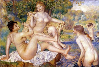The Bathers by Renoir (1887)