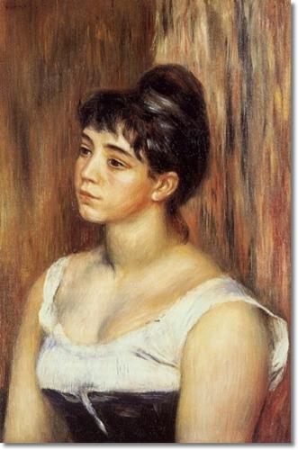 Suzanne Valadon by Pierre Auguste Renoir (1885)