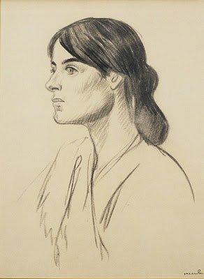 Suzanne Valadon by Théophile-Alexandre Steinlen
