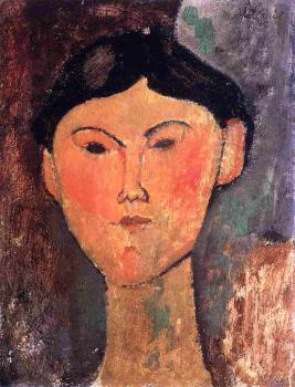 Beatrice Hastings by Modigliani (1915)