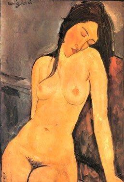 Female Nude by Modigliani (1916)