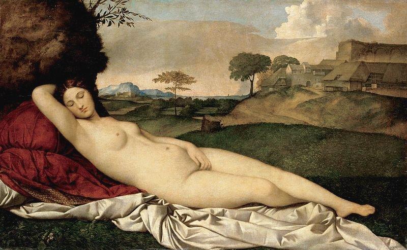 Sleeping Venus by Giorgione (c.1508)