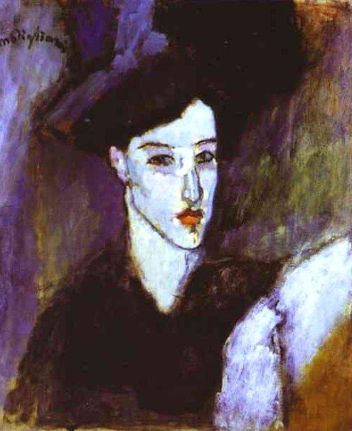 The Jewess by Modigliani (1908)
