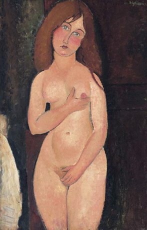 Vénus (Nu debout, nu médicis) by Modigliani (1917)