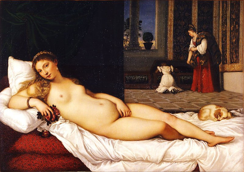 Venus of Urbino by Titian (1538)