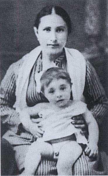 Amedeo with his nurse