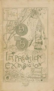 The 9 by 5 Impression Exhibition catalogue cover