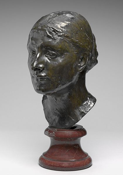 Head of Mrs. John Peter Russell (Marianna Mattiocco della Torre) by Auguste Rodin