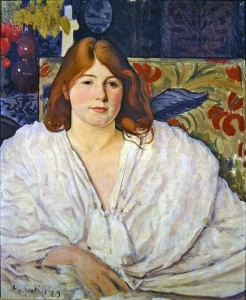 Lili Grenier by Louis Anquetin (1929)