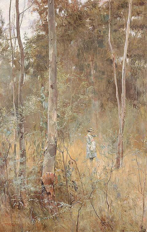 Lost by Frederick McCubbin (1886)
