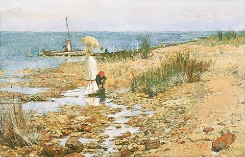 Moyes Bay, Beaumaris by Frederick McCubbin (1887)
