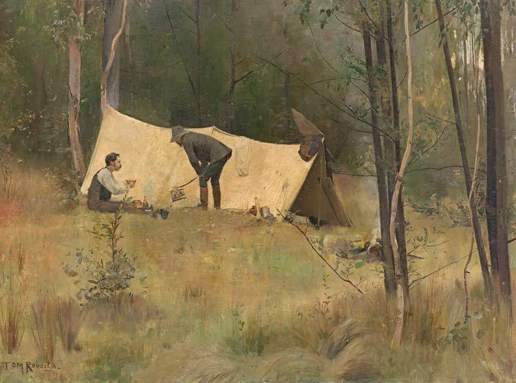 Frederick Mccubbin Part 2 The Box Hill Artists Camp