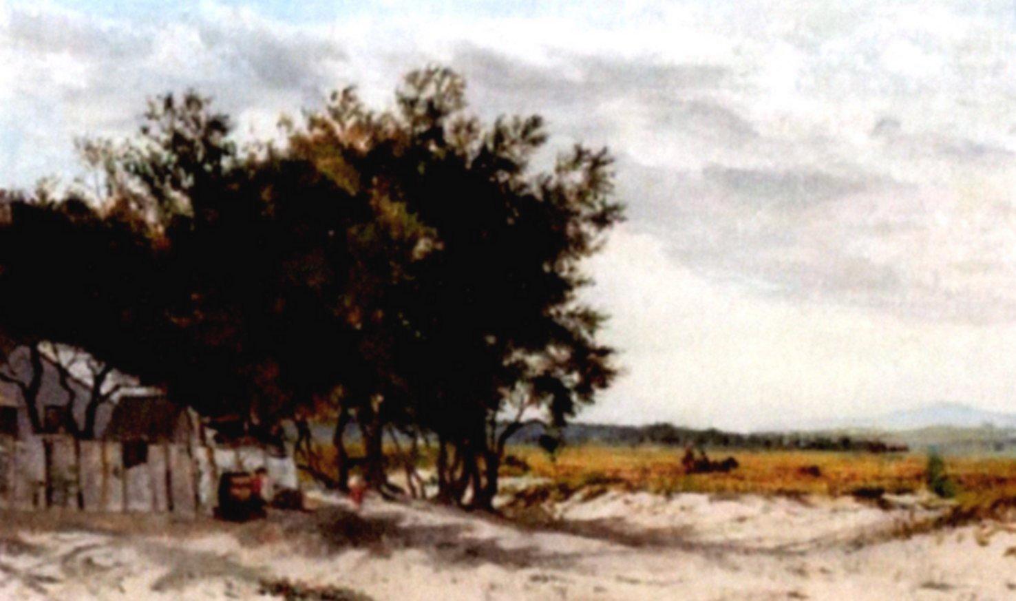 View near Fisherman's end by Frederick McCubbin (c.1880)