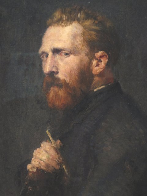 Vincent van Gogh by John Peter Russell, 1886
