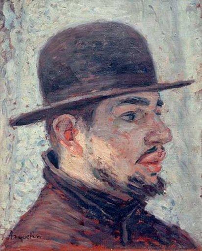 Henri de Toulouse-Lautrec by Louis Anquetin (1886)