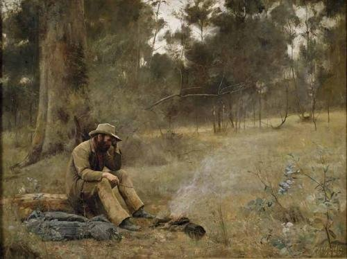 Down on his luck by Frederick McCubbin (1889)