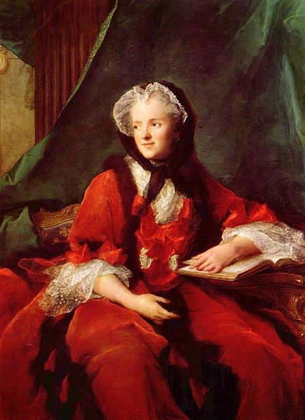 Portrait of Queen Marie Leszczyńska by Jean-Marc Nattier (1748)