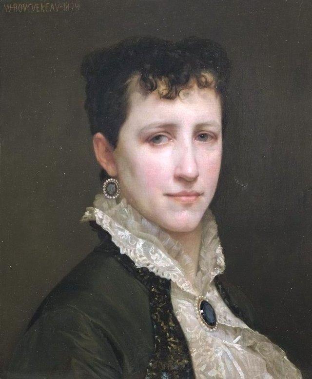 Elizabeth Jane Gardner by William Bouguereau (1879)