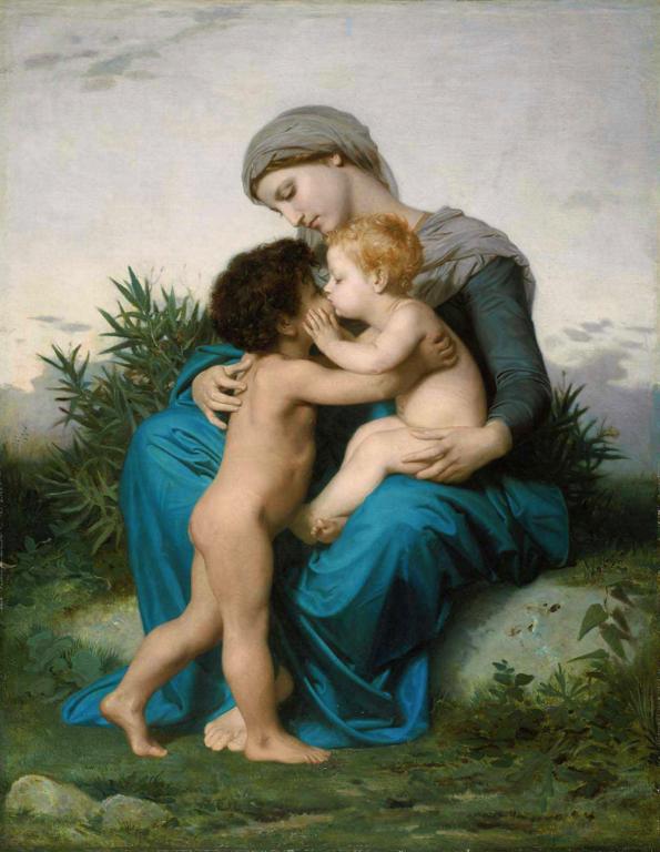 Fraternal Love by Bouguereau (1851)