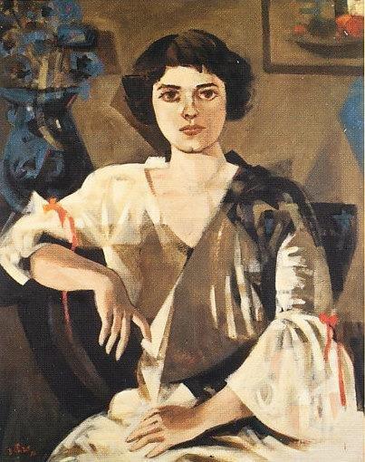 Gloria Zea by Fernando Botero (1956)