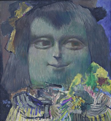 Mona Lisa, Age Twelve by Fernando Botero (1959)