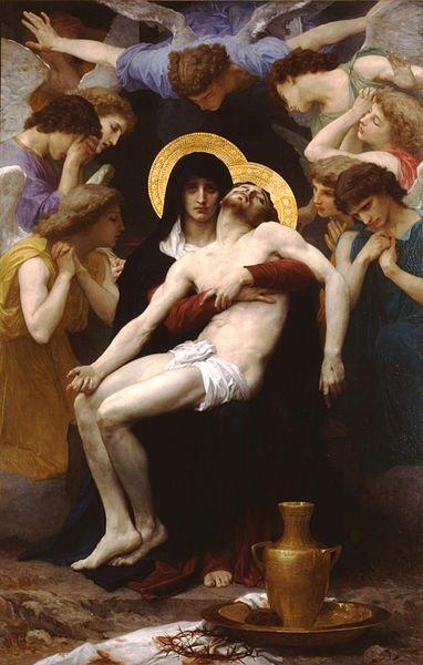 Pieta by Bouguereau (1876)