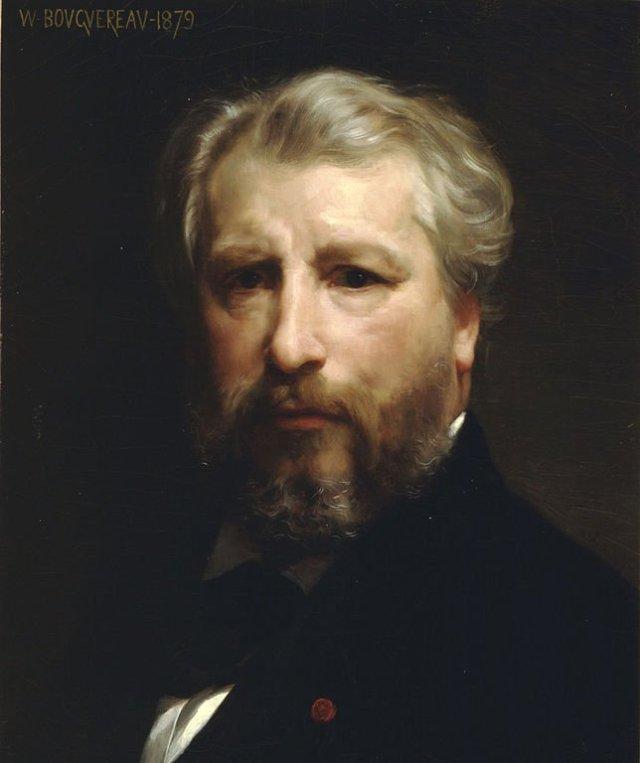 Self Portrait by William Bouguereau (1879)
