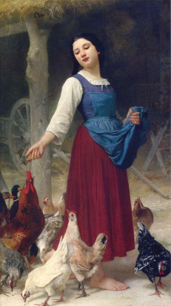 The Farmer's Daughter by Elizabeth Jane Gardner (1878)